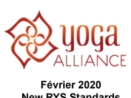 Yoga Alliance 2020 New RYS standards