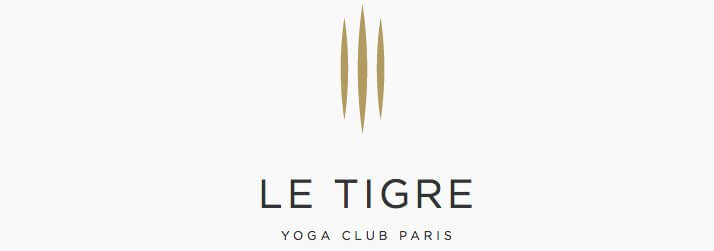 logo tigre yoga club